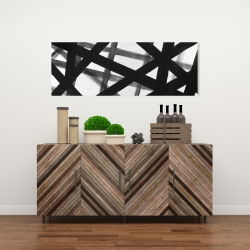 Canvas 16 x 48 - Abstract bold lines