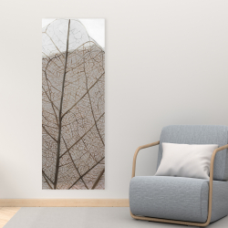 Canvas 16 x 48 - Translucent dried leaves
