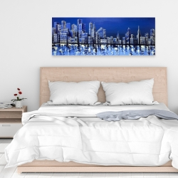 Canvas 16 x 48 - Blue skyline