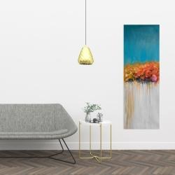 Canvas 16 x 48 - Orange flowers bundle