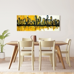 Canvas 16 x 48 - Yellow city