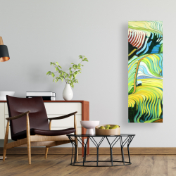 Canvas 16 x 48 - Terraced rice fields to vietnam