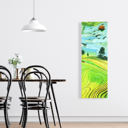 Canvas 16 x 48 - Rice fields of vietnam