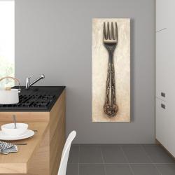 Canvas 16 x 48 - Vintage fork