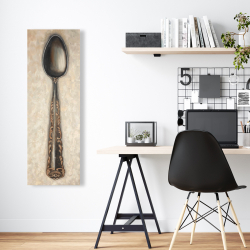 Canvas 16 x 48 - Vintage spoon