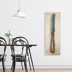 Canvas 16 x 48 - Vintage butter knife
