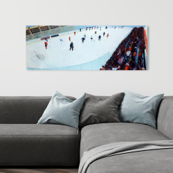 Canvas 16 x 48 - Game of hockey
