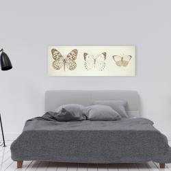 Canvas 16 x 48 - Sepia butterflies