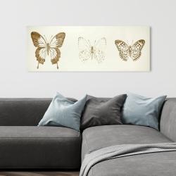 Canvas 16 x 48 - Butterflies sketch