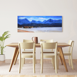 Canvas 16 x 48 - Scotland calm eddies