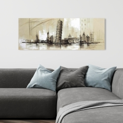 Canvas 16 x 48 - Pise tower sketch