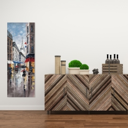 Canvas 16 x 48 - Paris street