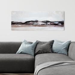 Toile 16 x 48 - Montagnes en aquarelle