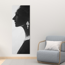 Toile 16 x 48 - Femme chic