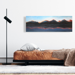 Canvas 16 x 48 - Mountains landscape