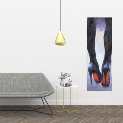 Canvas 16 x 48 - Long legs with high heels