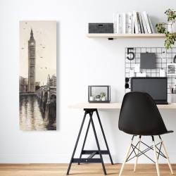 Canvas 16 x 48 - Big ben in london