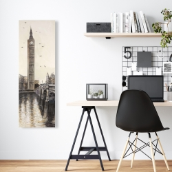 Canvas 16 x 48 - Big ben in london