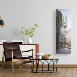 Canvas 16 x 48 - Morning in the streets of new-york city