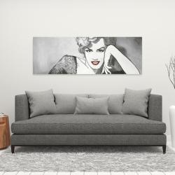 Canvas 16 x 48 - Vintage style marilyn monroe