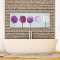 Canvas 16 x 48 - Dahlia pompon