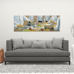Canvas 16 x 48 - Cook chefs at work