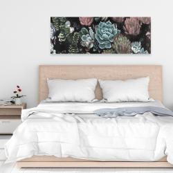 Canvas 16 x 48 - Succulent set