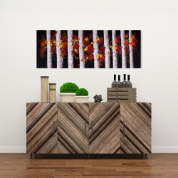Canvas 16 x 48 - Trees and fall leaves