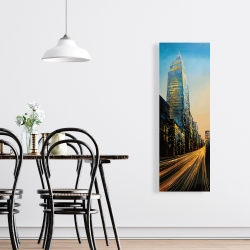 Canvas 16 x 48 - In the street of empire state building