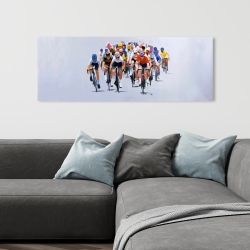 Canvas 16 x 48 - Cycling competition