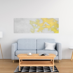 Canvas 16 x 48 - Gold stains