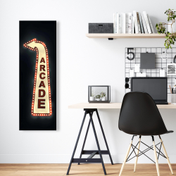 Canvas 16 x 48 - Arcade