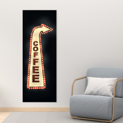 Canvas 16 x 48 - Coffee