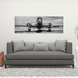 Canvas 16 x 48 - Grayscale plane