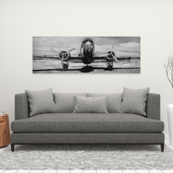 Canvas 16 x 48 - Grayscale plane