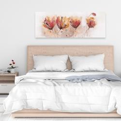 Canvas 16 x 48 - Four little flowers
