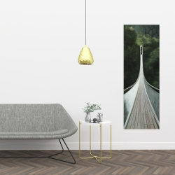 Canvas 16 x 48 - Steep bridge
