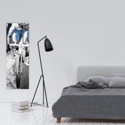 Canvas 16 x 48 - Professional cyclist