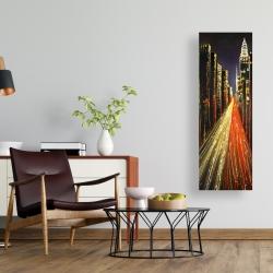 Canvas 16 x 48 - Lively city