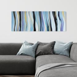 Toile 16 x 48 - Humeur bleu