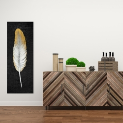 Canvas 16 x 48 - Golden feather