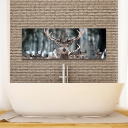 Canvas 16 x 48 - Stags