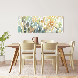 Canvas 16 x 48 - Cluster of circles