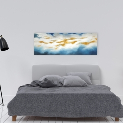 Canvas 16 x 48 - Abstract clouds