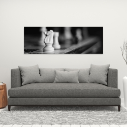 Canvas 16 x 48 - Monochrome chess games