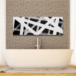 Canvas 16 x 48 - Geometric stripes