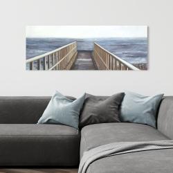 Canvas 16 x 48 - Relaxing beach