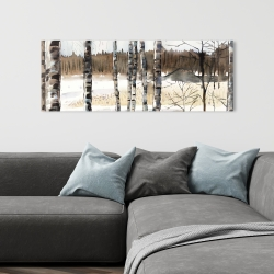 Canvas 16 x 48 - Winter swamp