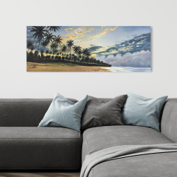 Toile 16 x 48 - Moments d'été tropical