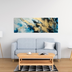 Canvas 16 x 48 - Blue marble